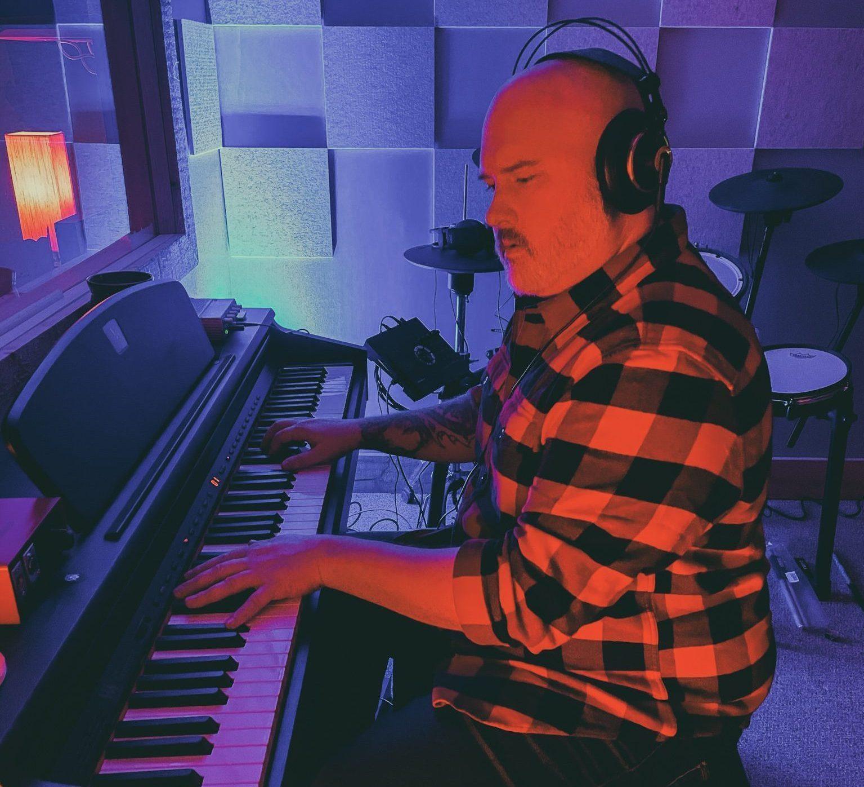 Jason Sovis Recording Piano